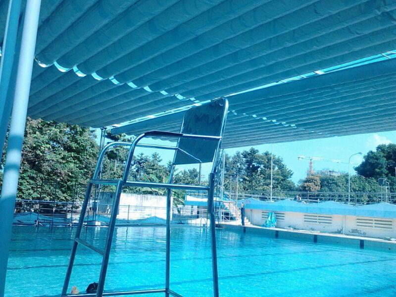 TOP 2O+Mẫu mái che hồ bơi đẹp -Thi công lắp đặt mái hiên-mái xếp bạt kéo lùa lượn sóng di động-bạt che phủ cho bể bơi giá rẻ