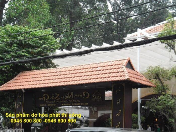 mái che xếp tại Đồng Nai