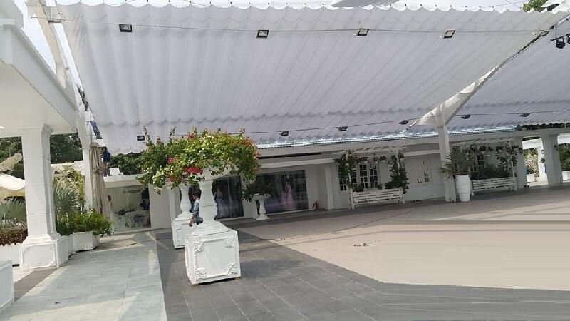 Công ty mái hiên di động đẹp mái kéo xếp tại quận 7 Tp.HCM